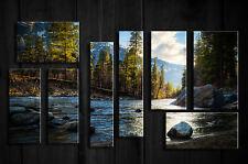 Incorniciato stampa-Windows per il mondo esterno (MOUNTAIN LANDSCAPE QUADRO ART)