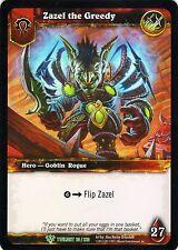 WOW Zazel the Greedy TWLIGHT 20/220 FOIL WORLD OF WARCRAFT ENG MINT