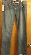 Juniors size 13  Vans denim boot cut  blue jeans w embellishments NWT