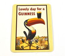 Guinness Beer Beer Coasters Coasters Coaster - Motif Toucan Bird with Glass
