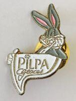 Pilpa Brand Bugs Bunny Cartoon Pin Badge Vintage Advertising (N24)