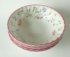 Johnson Brothers Summer Chintz Cereal Bowls x 4