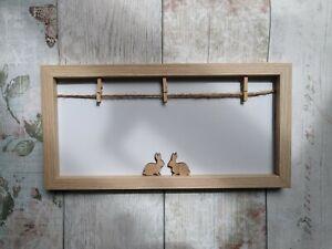 Rabbit Bunny memo peg board photos reminders office New