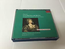 Donizetti: Lucrezia Borgia Gaetano Donizetti Audio CD SET