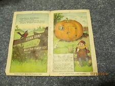 Vintage Antique Star Soap Advertising Booklet No Cover