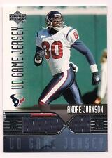 2004 Upper Deck Jersey Andre Johnson Houston Texans
