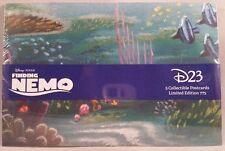 Disney Pixar D23 Finding Nemo Set of 5 Collectible Postcards Limited Edition 775