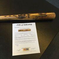 1983-1986 Gary Carter Signed Game Issued Baseball Bat PSA DNA COA NY Mets