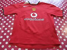 Boy's Vodafone Manchester United Nike Top with Tear on Back