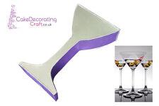 "Novelty Baking Tins - Martini Cocktail Glass Cake Tin - 3"" Deep"