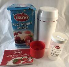 EASIYO REAL YOGURT MAKER / FLASK WITH CONTAINER  MAKES 1 KG YOGURT BOXED