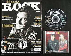 Classic Rock Magazine Issue No 19 complete with CD Excellent Condition