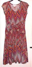 Jolie robe maille extensible colorée JUS D'ORANGE T 2 TBE
