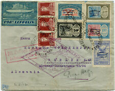 1930 (may 21th) Zeppelin PRIMO VOLO Argentina Cover from Buenos Aires to Berlin