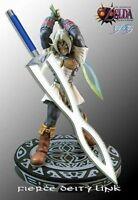 ZELDA FIERCE DEITY'S MASK SWORD With Wooden Stand & Sheath
