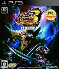 Gebrauchte PS3 Monster Hunter Portable 3rd HD Ver. Japan Import