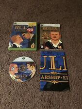 Bully - Scholarship Edition (Microsoft Xbox 360, 2008) ~ Complete w/Map & Manual