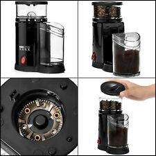 Ground Coffee Burr Grinder Whole Bean Small Travel Best Blender Crusher Electric