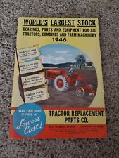 Tractor Replacement Parts Co 1946 Tractors, Combines, and Farm Machinery Catalog