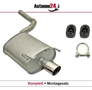 Auspuff Mercedes CLK / CLK Cabriolet 200, 230 Kompressor ab. Bj. 1997, Endtopf