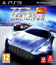 Test Drive Unlimited 2 (Sony PS3) Kids Racing Game Atari Complete Region Free