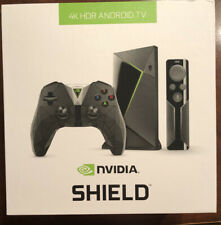 NVIDIA SHIELD TV Streaming Media Player with Remote and Game Controller - SEALED