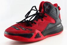 adidas Dual Threat Red Synthetic Athletic Boys Shoes Size 6.5