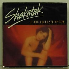 """SHAKATAK 'IF YOU COULD SEE ME NOW' UK PICTURE SLEEVE 7"""" SINGLE"""