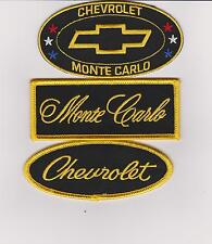 CHEVY MONTE CARLO SEW/IRON ON PATCH EMBLEM BADGE EMBROIDERED DALE EARNHARDT