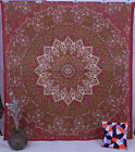 Indian Red Star Psychedelic Tapestry Wall Hanging Throw Bedding Decor Art Hippy