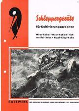 Rabewerk Schleppergeräte, orig. Prospekt ca. 1940