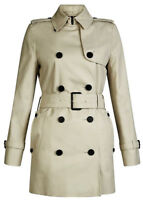 Trench Giacca Giubbotto Aquascutum London Donna Women Jennifer Rainwear Beige
