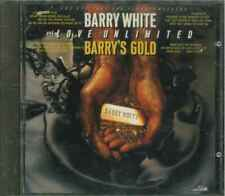 """BARRY WHITE & LOVE UNLIMITED """"Barry's Gold"""" CD-Album"""