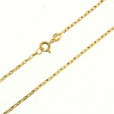 New Ladies / Womens 28 inch Solid 9ct Yellow Gold Belcher Chain 3.3g RRP £160