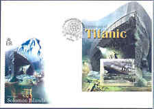 SOLOMON ISLANDS 2012 100th ANNIVERSARY SINKING OF THE TITANIC SOUVENIR SHEET FDC