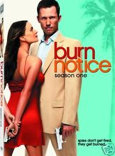 Burn Notice - Season 1 One (DVD, 2009, 4-Disc Set) - Brand New - Factory Sealed