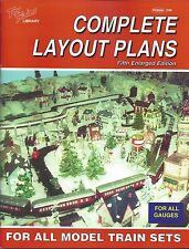 COMPLETE LAYOUT PLANS For All Model Train Sets: 150 train layouts -- (NEW BOOK)