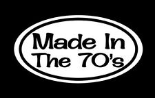 """ONE Awesome """"Made In The 70's"""" Vintage Old School Drag Racing, Hot Rod"""