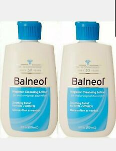 (PACK OF 2 )) Balneol Hygienic Cleansing Lotion 3 oz (89mL)  Expire 03/23