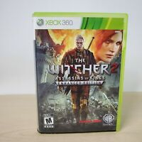 Witcher 2 Assassin of Kings Enhanced Edition - Microsoft Xbox 360 Game With OST