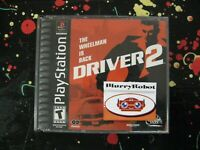 Driver 2 PlayStation 1 PSX 2000 Urban Racing Game