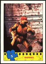 Raphael #5 Teenage Mutant Ninja Turtles The Movie 1990 Topps Trade Card (C1324)
