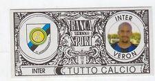 figurina - TUTTO CALCIO EURO MONETE  - INTER VERON