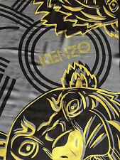 Authentique grand carré écharpe foulard Kenzo Tigre Neuf Scarf Tiger