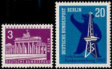 ✔️ BERLIN 1963 - COMPLETE YEAR SET - MI. 231/232 ** MNH OG [DB231Y]