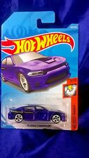 Hot Wheels '15 Dodge Charger SRT Purple Die-Cast Muscle Mania #3/10 New Release