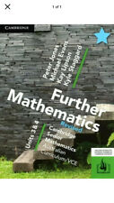 Cambridge Further Mathematics Revised VCE Units 3 & 4 PDF
