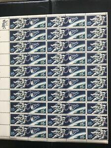 US Stamps Scott #1331-1332 1967 Gemini Mission Mint Stamp Sheet 50