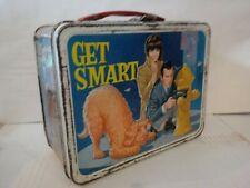 Vintage 1966 GET SMART METAL LUNCH BOX Maxwell Smart King Seeley