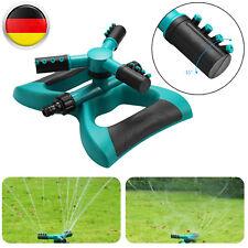 3 Arm Drehsprenger Kreisregner Rasensprenger Wassersprinkler Impulsregner